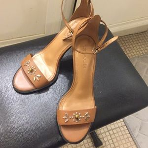 Coach Sandals Pumps Heels 8.5